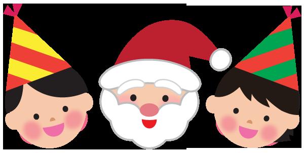 クリスマスパーティーのイラスト3