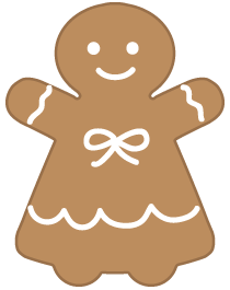 ジンジャークッキー女の子