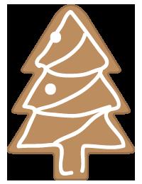 ジンジャークッキーツリー