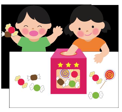 キャンディボックスのイラスト
