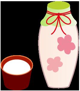 ひな祭り白酒